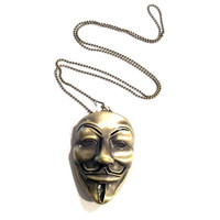 V for Vendetta Pendant Necklace