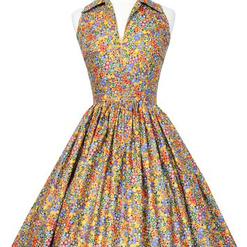 Mari Dress in Kiss Me Gustav Klimt