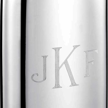 Visol Judge Genuine Pewter 6-oz. Groomsmen Flask - Free Engraving