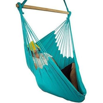 Patio Hammock Chair Swing Bedroom Backyard Porch Hanging Drink Holder Hammock