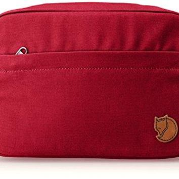 Fjallraven - Travel Toiletry Bag, Redwood