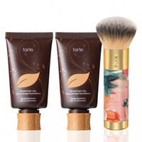 TARTE DOUBLE DEAL Amazonian Clay Foundation and Brush
