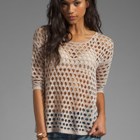 heartLoom Carina Sweater in Dune from REVOLVEclothing.com