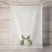 Baby Bunnies Tea Towels