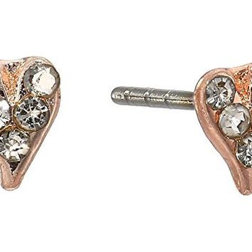 Rebecca Minkoff Baby Heart Stud Earrings