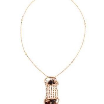 SAQQARA | Double Slice Necklace | Browns fashion & designer clothes & clothing