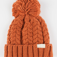 Neff Kaycee Beanie Rust One Size For Women 26396446301