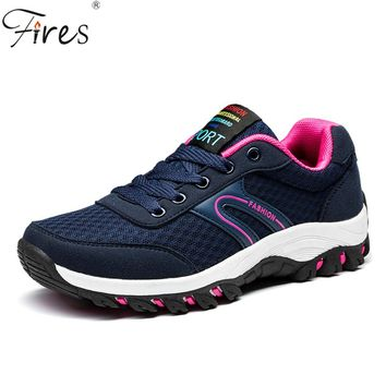 Fires 2017 Trail Running Shoes Men Lightweight Mesh Sport Sneakers Air Spring Summer Walking Shoes  Women Breathable Run shoes