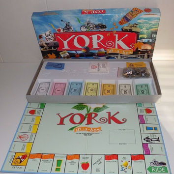 York In A Box Monopoly Style York PA