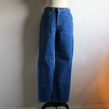 80s Vintage GWG Jeans Cotton Blue Denim Great Western Garment Pants 32 x 32