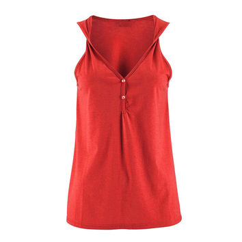 Summer Fashion 2017 Hot Sale Women Tank Tops Sexy V Neck Sleeveless Twisted Strap Vests Casual Blusa