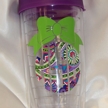 Mongrammed acrylic tumbler,  pacific acrylic tumbler,  personalized tumbler, teacher gift, custom tumbler - 16oz