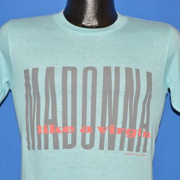 80s Madonna Like A Virgin Tour 1984 t-shirt Small