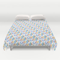 GOOGLE Duvet Cover by Acus