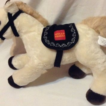 Wells Fargo Legendary Pony El Toro 2014 Plush Horse Toy Stuffed Animal Pony