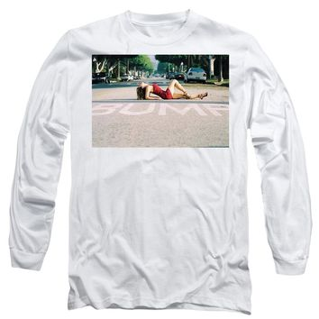 Pin Up Model Bump - Long Sleeve T-Shirt