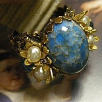 Adjustable Ring of Vintage Jewels
