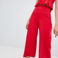 New Look Wide Leg Culottes at asos.com