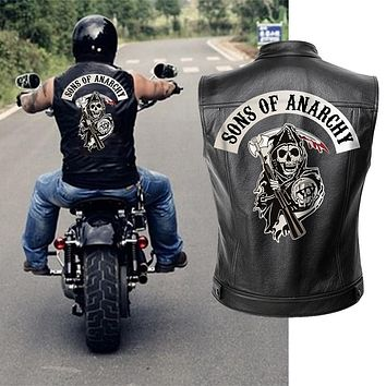 Sons of Anarchy Faux Leather Vest