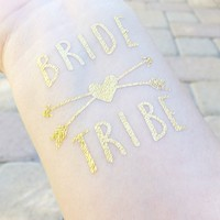 Bride Tribe Bachelorette Party Tattoos