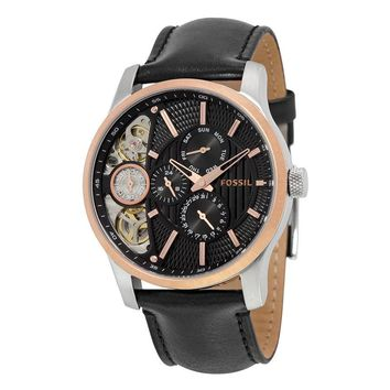 Fossil Twist Black Dial Multifunction Mens Watch ME1099
