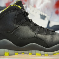 NIKE AIR JORDAN RETRO 10 Green Black Venom 310805-033