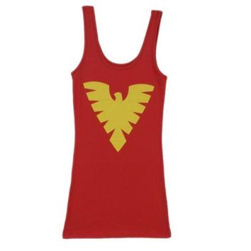 X-Men Dark Phoenix Costume Marvel Comics Tunic Tank Dress