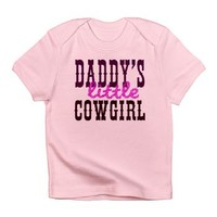 Daddy's Cowgirl Infant T-Shirt> Daddy's little Cowgirl> Bimbys Kids And Babies