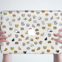 Neko Atsume MacBook Pro Retina 13 15 Hard Case Laptop Hard Case MacBook Air 13 Hard Case MacBook 12 Case MacBook Air 11 Hard Cover