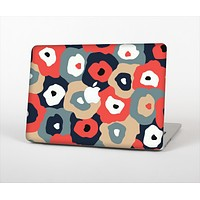 The Bulky Colorful Flowers Skin Set for the Apple MacBook Air 13""