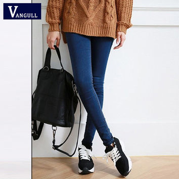 Hot Sale Skinny Jeans Woman New Pencil Jeans For Women Fashion Slim  Ankle-Length Jeans Women's Printed Denim Pants