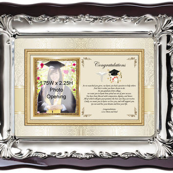 Medical School Graduation Picture Frame