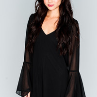 Show Me Your Mumu ~ Barry Bell Sleeve ~ Black