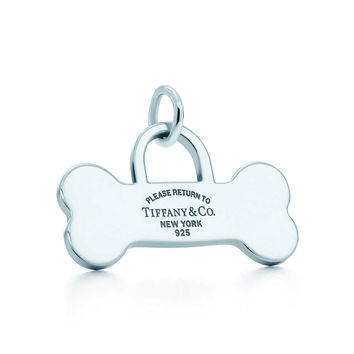Tiffany Dog Tag Charm