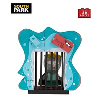 "South Park ""Professor Chaos"" Butters with Holding Cell Micro Construction Set"