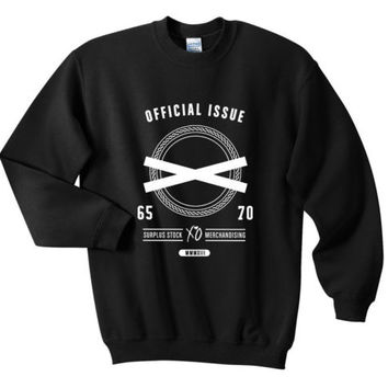 Ovoxo XO Official Issue Logo Sweatshirts White Black SIZE S, M, L, XL
