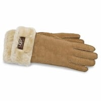 UGG Women's Turn Cuff Gloves - Free Shipping