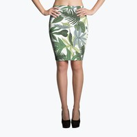 In The Jungle Pencil Skirt