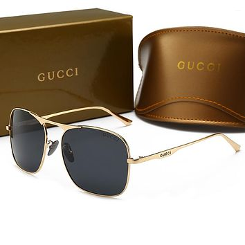 GUCCI Fashionable Women Men Classic Summer Sun Shades Eyeglasses Glasses Sunglasses
