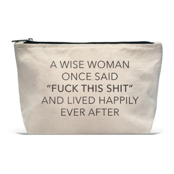 Pouch- A Wise Woman