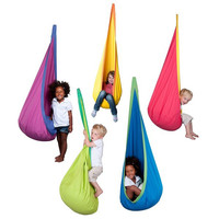 Baby Toy Swing Hammock Chair Indoor Outdoor Hanging Toy Swing Chair Seat hangstol for reading tent relax