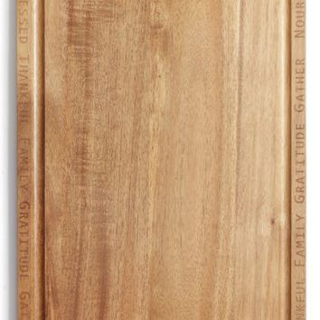 Nordstrom at Home Acacia Wood Cutting Board | Nordstrom
