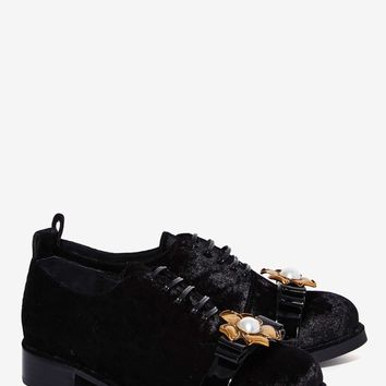 Jeffrey Campbell Alsace Velvet Oxford