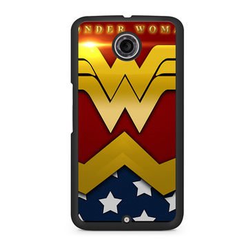 Wonder Woman Logo Nexus 6 case