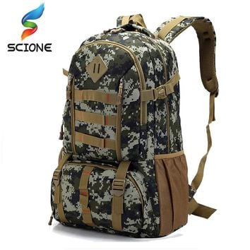 2018 Hot Top Quality Large Waterproof Military Tactical Backpack Hunting Hiking Camping Rucksack Army Backpack Sport Bags