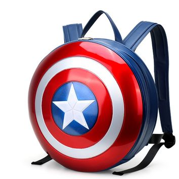 The new Captain America shield bag backpack