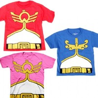 Mighty Morphin Power Rangers Megaforce Youth Costume T-shirt