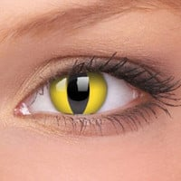 Cat Eye Crazy Contact Lenses (Pair) | Coloured Contact Lenses