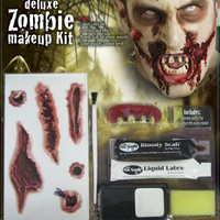 Zombie Deluxe Makeup Kit – Spirit Halloween