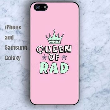 queen of rad colorful iPhone 5/5S case Ipod Silicone plastic Phone cover Waterproof